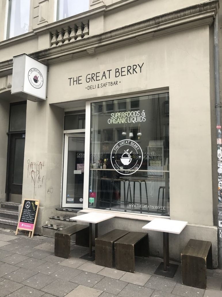 Café the great berry Köln